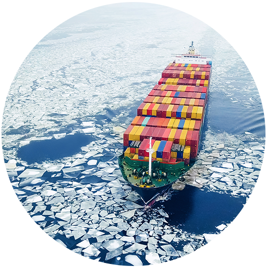 commercial shipping ice